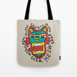 MEOWGR TIGER Tote Bag