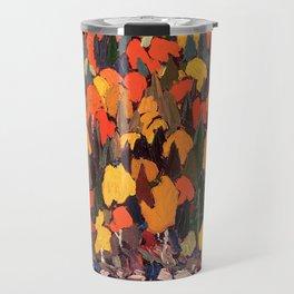 Tom Thomson ‑ Autumn Foliage - Canada, Canadian Oil Painting - Group of Seven Travel Mug