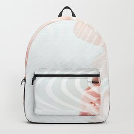 Ripple portrait Backpack