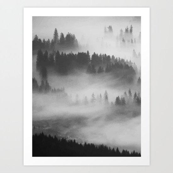 Everything Turns Gray #society6 Art Print