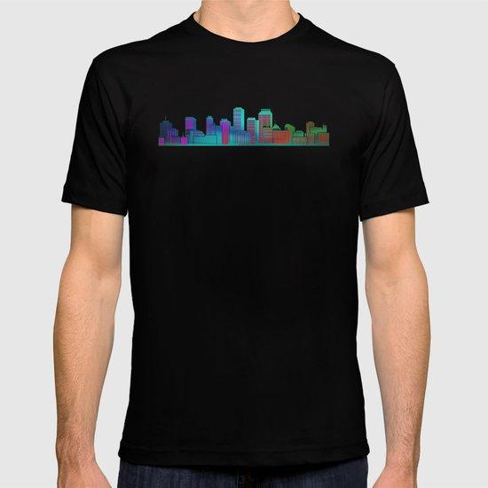 Seaside Cityscape T-shirt
