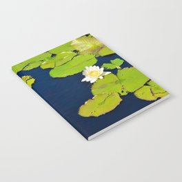 Dark Blue Pond by Teresa Thompson Notebook