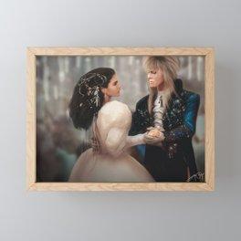 Labyrinth of Love (Digital Drawing) Framed Mini Art Print
