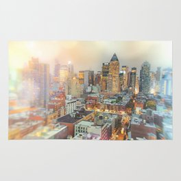 All Those Lights, They Shine For You - New York City Rug
