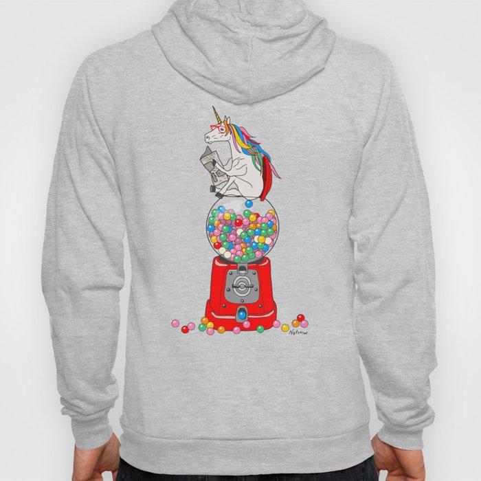 Unicorn Gumball Poop Hoody