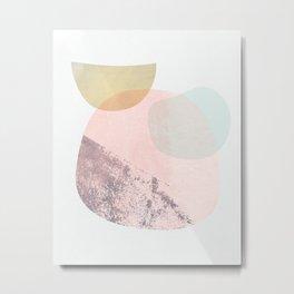 Shapes Study 3 Metal Print