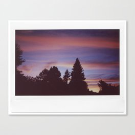 Instax Sunset Canvas Print