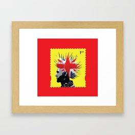 Punk Rocker Framed Art Print