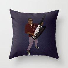 The KiiBoard Kid (Kola Bello) Throw Pillow
