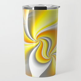 Turn Around (yellow) Travel Mug