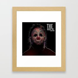 The Night He Came Home. Framed Art Print