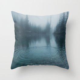 Grassi Lakes II Throw Pillow