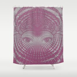 Ganesha Vortex Shower Curtain