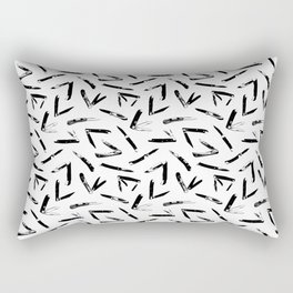 Pocket Knives Rectangular Pillow