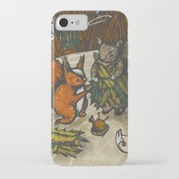 sewing iPhone & iPod Cases featuring Sewing Room by Kelsey Oseid