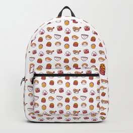 Kawaii sushi pattern Backpack
