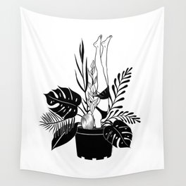 Never grow up Wall Tapestry