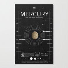 OMG SPACE: Mercury 1970 - 2010 Canvas Print