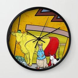 Real Rocko Wall Clock