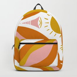 sunshine mandala Backpack