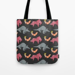 origami-Animal pattern Tote Bag