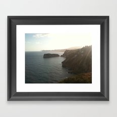 Costa Framed Art Print