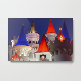On The Vegas Strip Metal Print