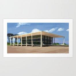 Brasilia Art Print