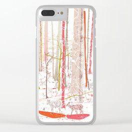 WinterLand Clear iPhone Case