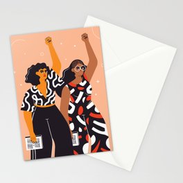 Feminism is for everybody Stationery Cards