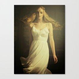 Dancing Girl Canvas Print