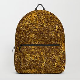Chunky Antique Gold Glitter Backpack