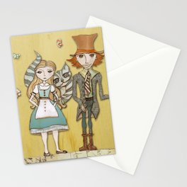 How Strange It Is - Alice in Wonderland Stationery Cards