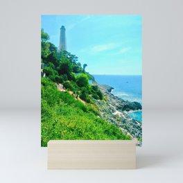 Lighthouse Blue Mini Art Print
