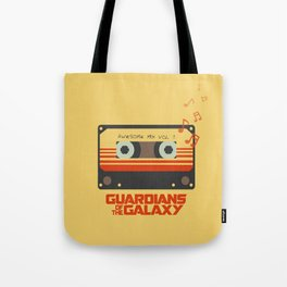 Awesome mix vol.1 Tote Bag