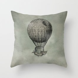 Dark Voyage Throw Pillow