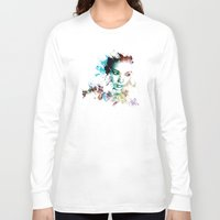 asia Long Sleeve T-shirts featuring Asia by J. Ekstrom
