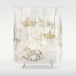 little memory Shower Curtain