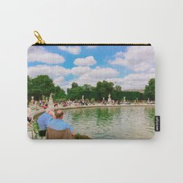 People in parks in Paris Carry-All Pouch