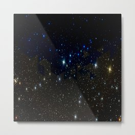 SPACE BACKGROUND Metal Print