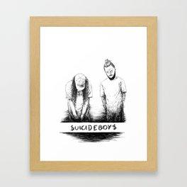 $UICIDEBOY$ Framed Art Print