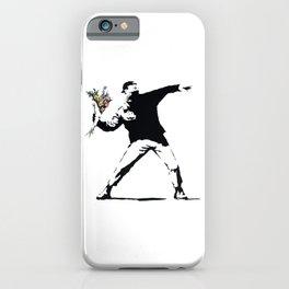 Flower Thrower iPhone Case