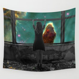 Window to Another World Wall Tapestry