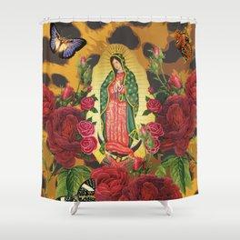 Virgen de Guadalupe Shower Curtain
