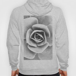 Succulent Photo | Black and White Hoody