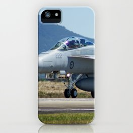 RAAF FA-18 Hornet iPhone Case