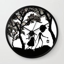 Hansel and Gretel Wall Clock