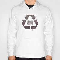 karma Hoodies featuring karma by manish mansinh