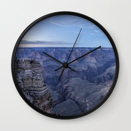 Early Evening at the Grand Canyon No. 1 Wall Clock