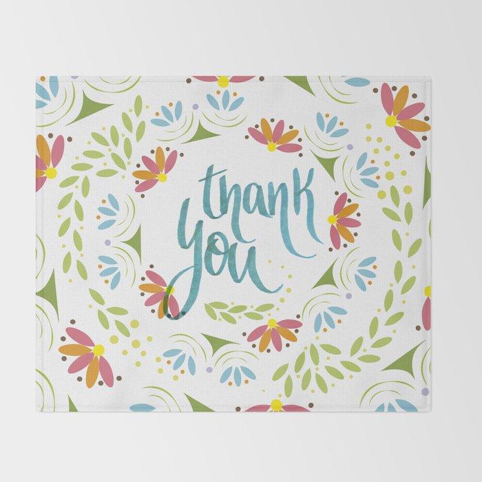 Thank you! Throw Blanket